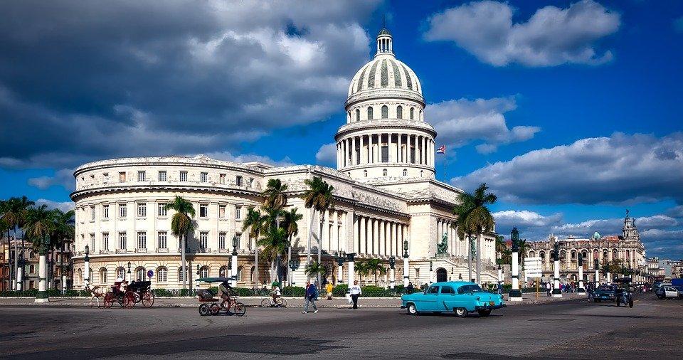 Capital Building in Havana, Cuba
