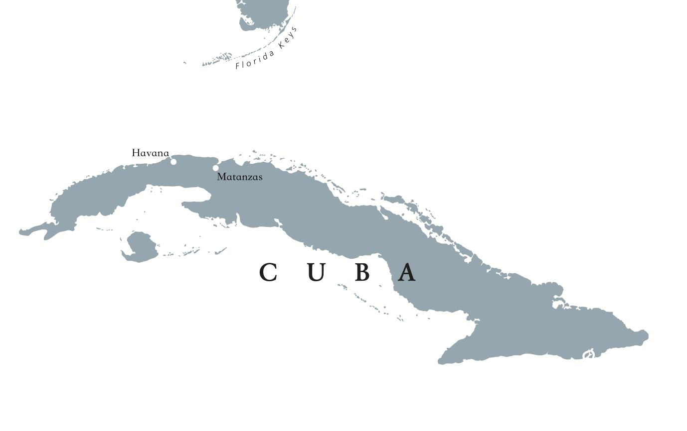 Cuba Map For Jazz Festival