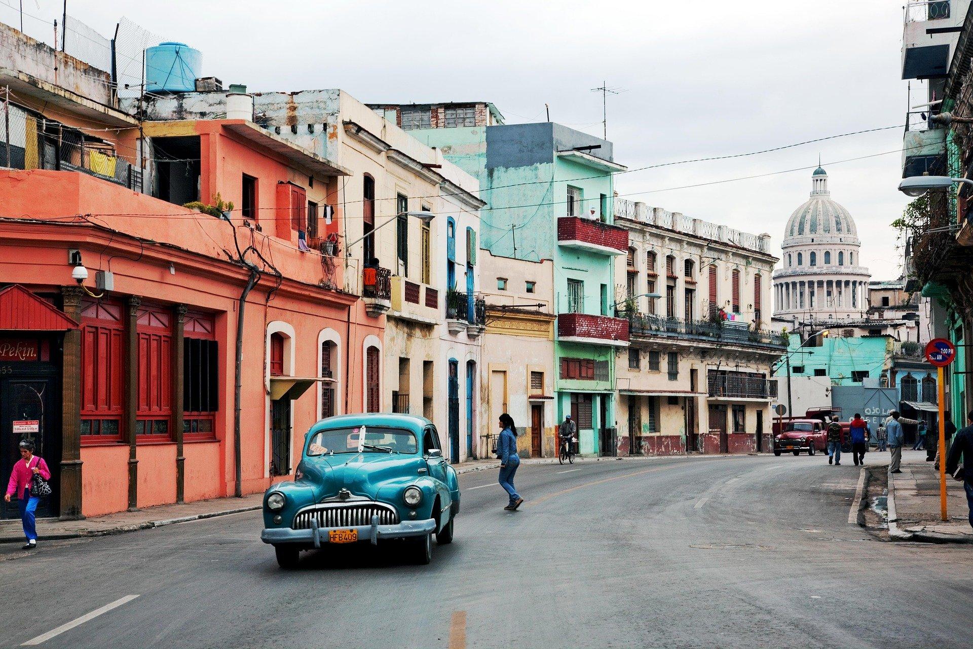 Havana, Street, Car Pixabay